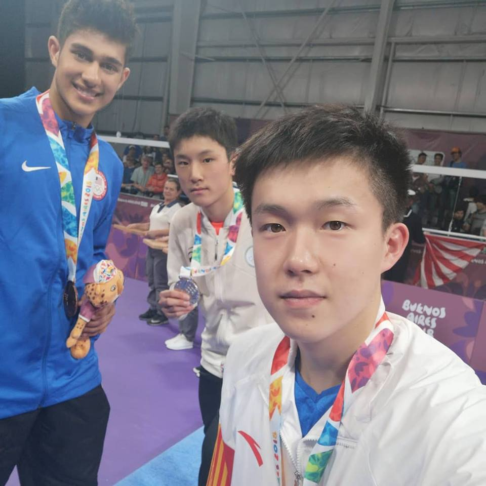 Jha Kanak with Olympic Bronze Medal!!